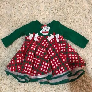 Rare Editions Christmas Dress